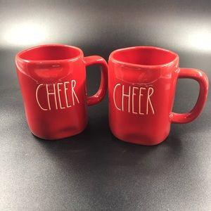 Rae Dunn Christmas Mug Set